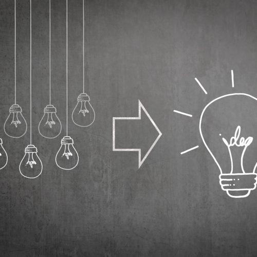 Business teamwork brainstorming success concept